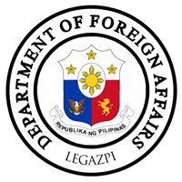 DFA LEGAZPI logo