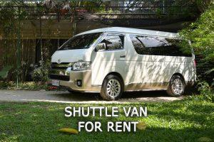 Cebu Van for Rent