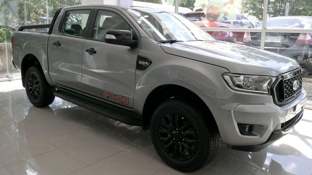 2021 Fx4 Ford Ranger Gray Color