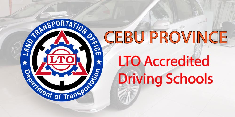 Cebu LTO Accredited Schools