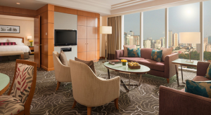 Pan Pacific Manila Deluxe Suite