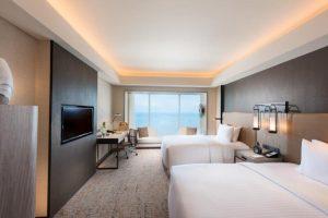 Conrad Manila Twin Deluxe Room