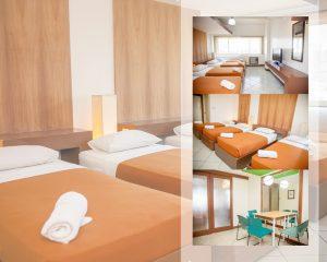 24 H Apartment Hotel 1 Bedroom Quad