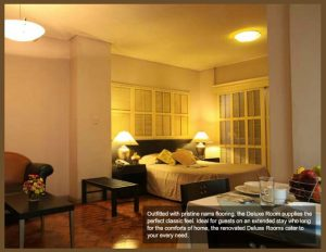 Mabini Mansion Deluxe Room