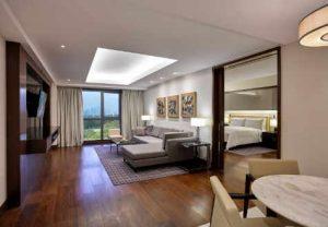 Marriott Hotel Manila Deluxe Suite