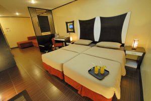 Casa Bocobo Hotel Deluxe Twin Room