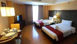 Lancaster Hotel Manila Junior Suite Twin