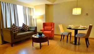 Lancaster Hotel Manila One Bedroom Executive Suite