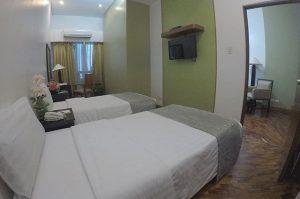 Malayan Plaza Hotel One Bedroom Twin Deluxe
