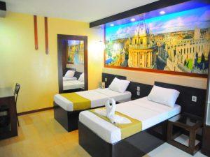 Eurotel North Edsa Hotel Standard Twin Room