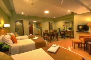 Malayan Plaza Hotel Studio Triple Deluxe