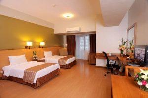 Malayan Plaza Hotel Studio Twin Deluxe