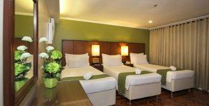 The Corporate Inn Hotel Supreme Deluxe Triple Room