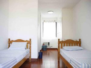 Prima Resort Twin Bedroom Air Conditioning
