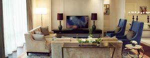 Raffles Makati Hotel Presidential Suite