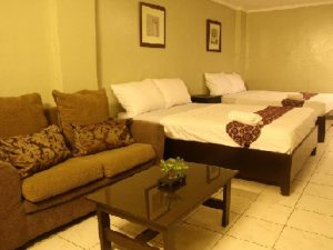 Metro Room Budget Hotel Philippines Quadruple Standard Room
