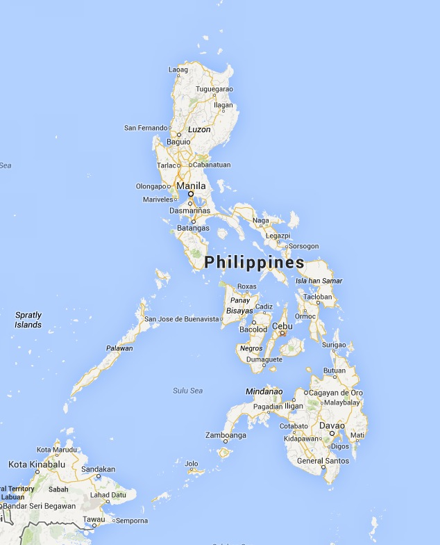 Philippines Cities Map