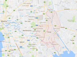 Pasig City Map