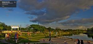 Marikina River in Marikina City