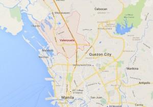 Valenzuela City Map