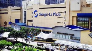 Shangri La Plaza Mall Mandaluyong City