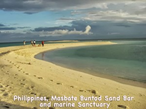 Masbate Buntod Sand Bar and marine Sanctuary