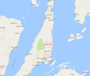 Danao City Map