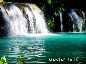 Mantapi Falls in Bayawan City