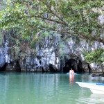 Palawan underground river cave entrance