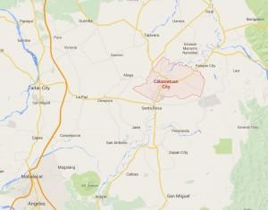 Cabanatuan City Map
