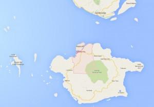 Isabela City Map