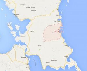 Borongan City Map, Samar