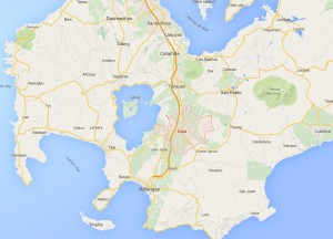 Lipa City Map