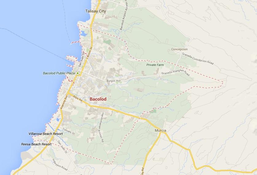 Bacolod Map - Google
