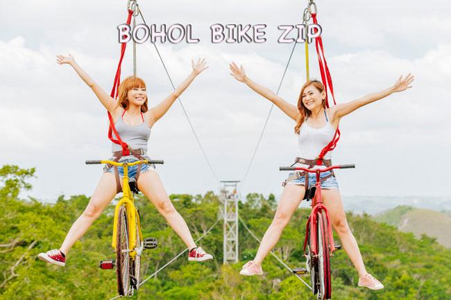 Bohol Bike Zipline