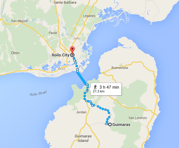 Guimaras Island Map