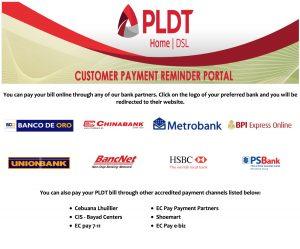 PLDT Payment Centers