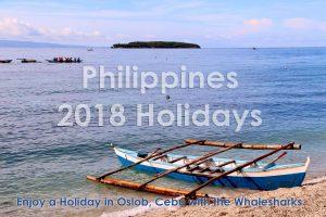 Philippines 2018 Holidays