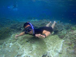 Rosendo Cuyasen Free Diving in Moalboal